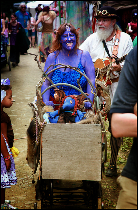 Trolls at the New York Faerie Festival